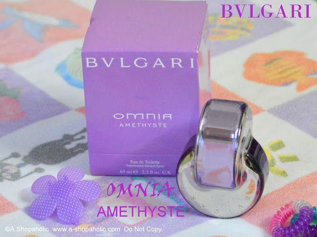 A Shopaholic: BVLGARI Omnia Amethyste Eau De Toilette Vaporisateur Natural Spray : Photos, Review, Notes