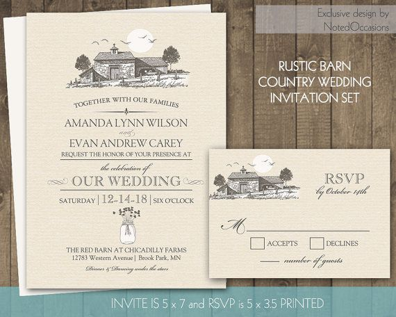 barn wedding invitations suite rustic country wedding invitations mason jar wedding invitations set rustic wedding barn