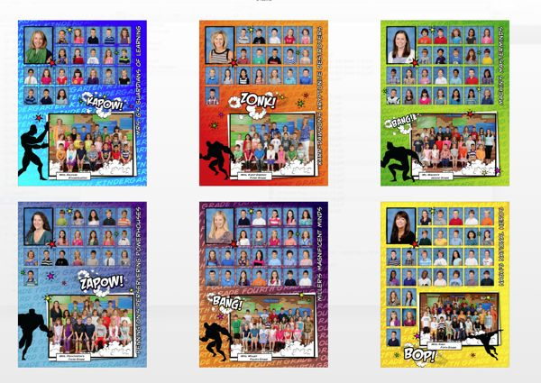 Shipley's Choice Elementary Yearbook Designs by Jessica Fleming, via Behance