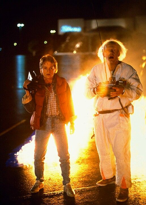 And these are the accurate reactions made when you see a DeLorean hit 88 mph and then vanish in mid air right before your eyes #BackToTheFuture #DeLorean #TimeTravel