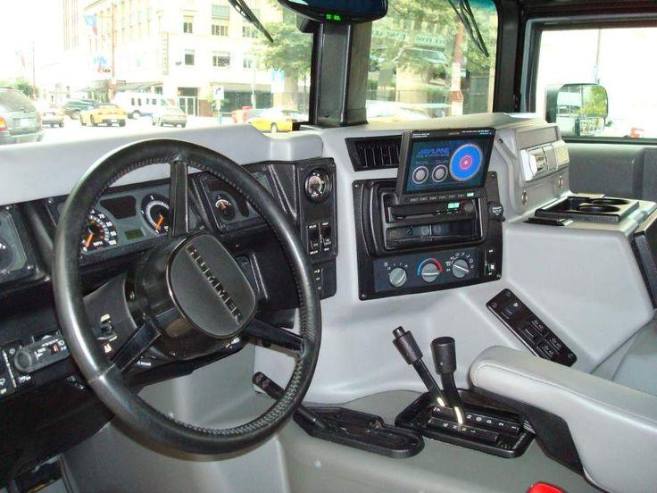 Hummer H1 Alpha Interior #260