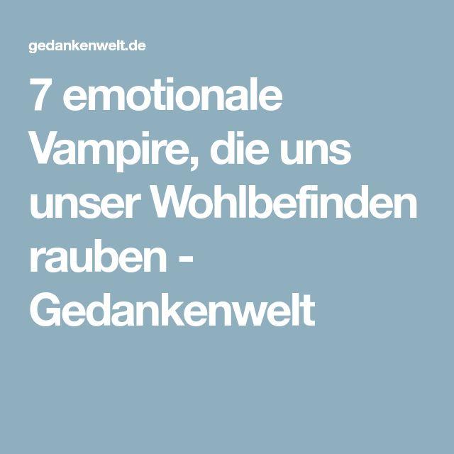 Emotionale Vampire