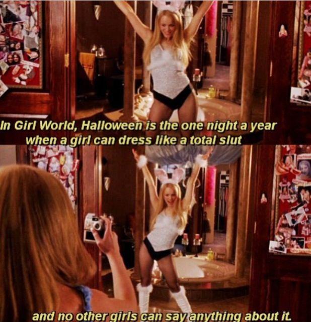 mean girls halloween aha - Halloween Quote Mean Girls