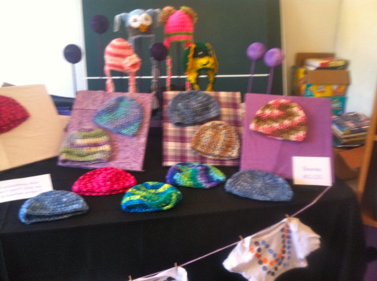 69 best images about craft show ideas on pinterest for Hat display ideas for craft shows