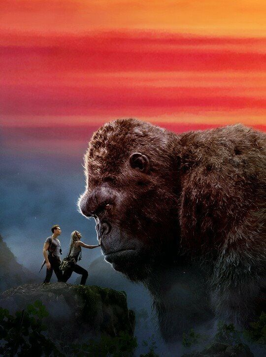 I HOPE this movie contains some KONG in it. The latest Godzilla had hardly any Godzilla. For all the griping about th4 1997 version, at least that version had Godzilla in it.