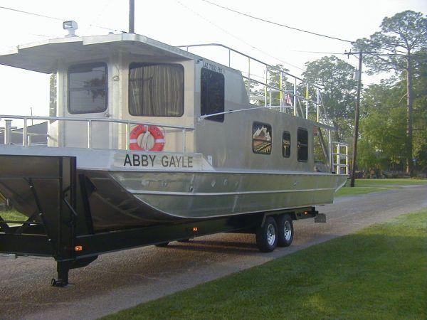 2011 Homemade Aluminum Houseboat House Boat For Sale in Southwest Louisiana - Louisiana Sportsman Classifieds, LA