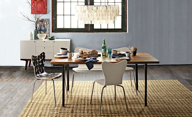 love the west elm dining room designs on
