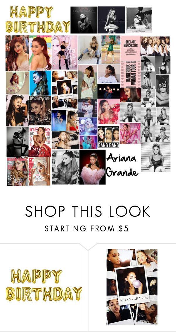 """Happy Birthday Ariana Grande!!"" by valenlss ❤ liked on Polyvore featuring Nicki Minaj and Victoria's Secret"