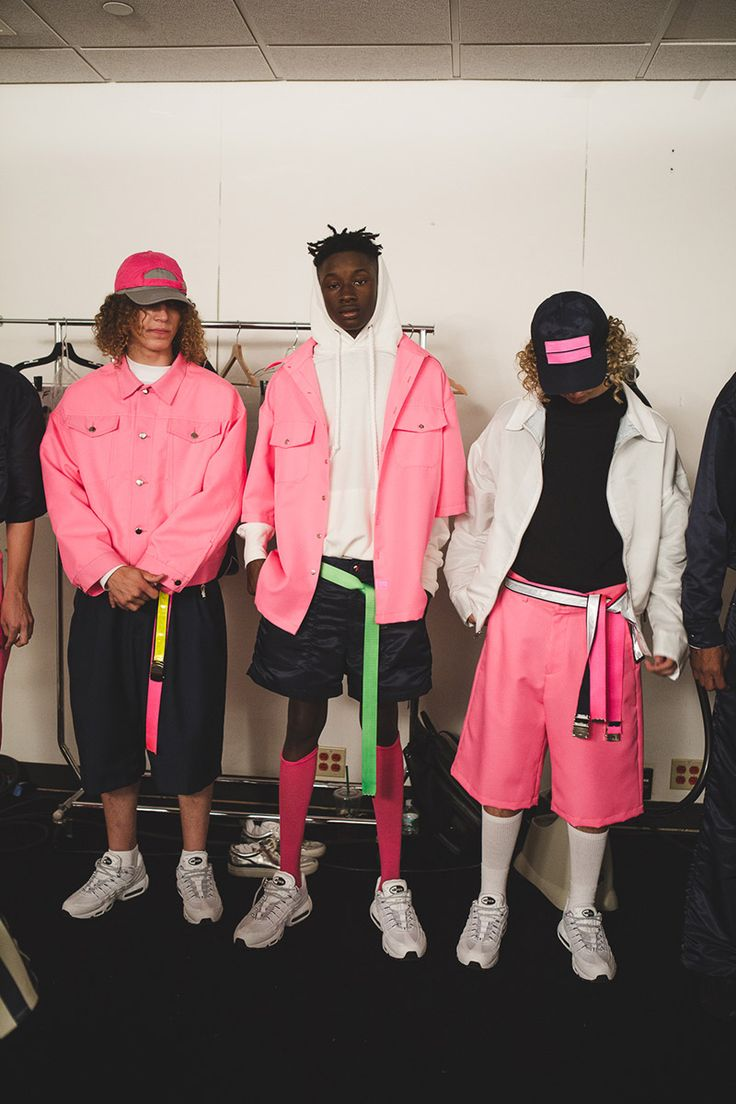 Take a look at Landlord SS17 backstage photographed by Phoebe Cheong during #NYFWMens, in exclusive for Fucking Young!