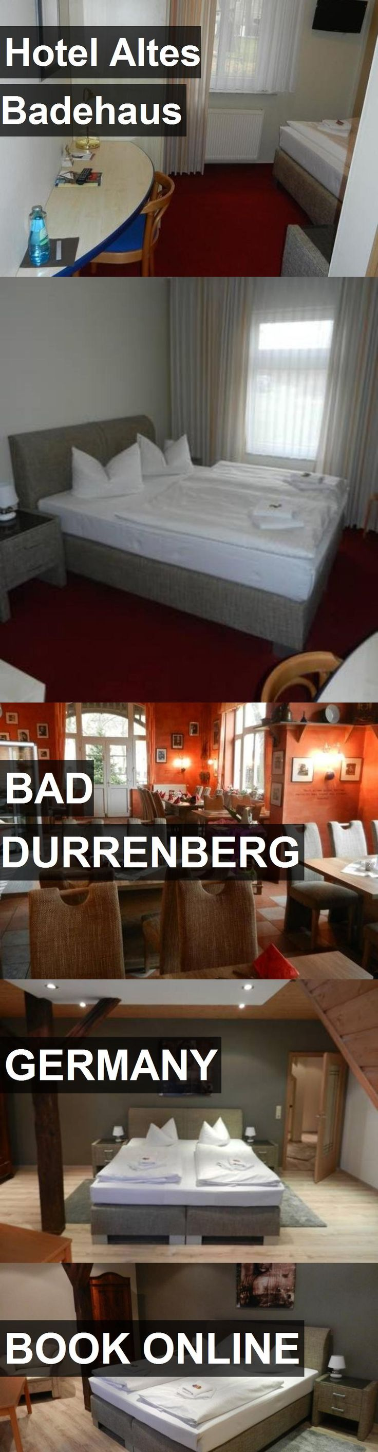 Hotel Altes Badehaus in Bad Durrenberg, Germany. For more information, photos, reviews and best prices please follow the link. #Germany #BadDurrenberg #travel #vacation #hotel