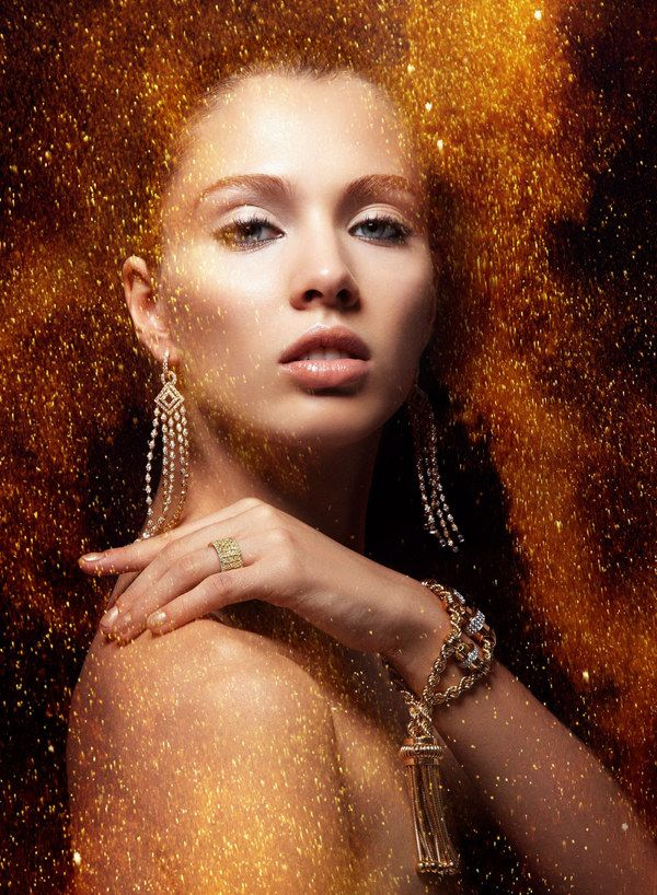 Amazing fashion portrait photography by Alexandra Leroy and the Rainwood Productions via Inspire First