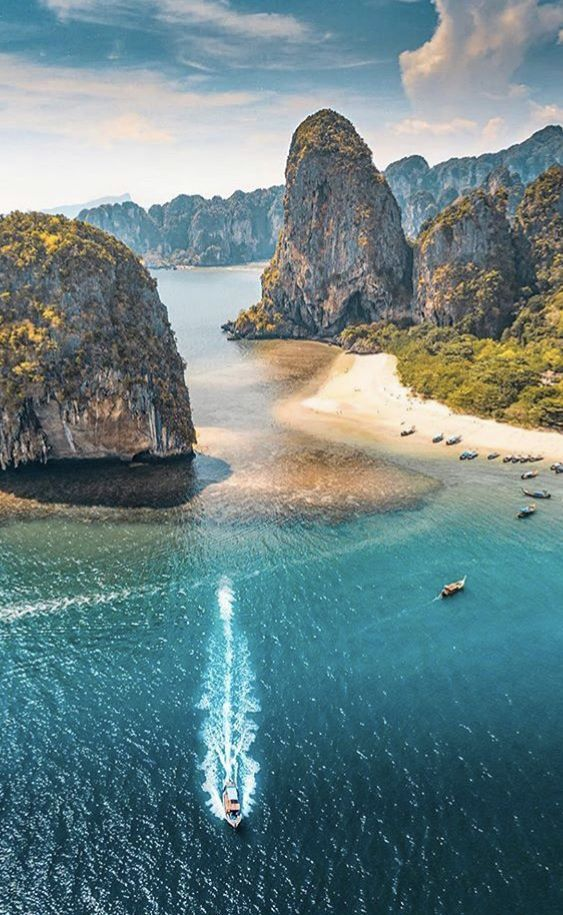 🌴🌎🔥✈ — Dream Beaches in Thailand 🌴 #Travel #Thailandtravel #backpacking