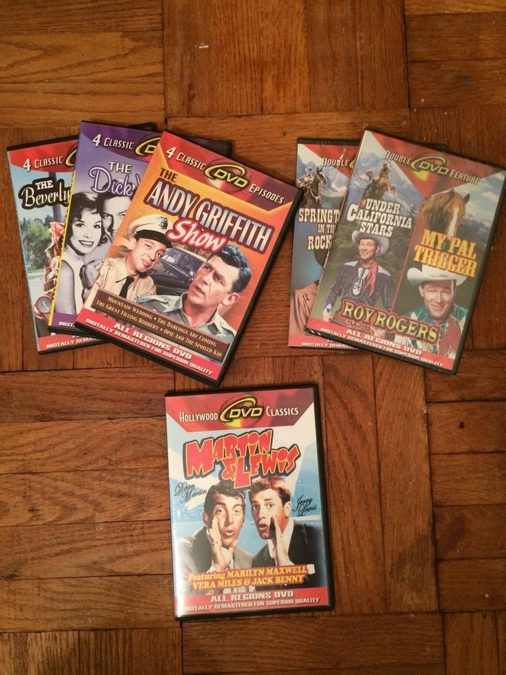 6 Classic DVD's For $5 | eBay #Canada #Deals #Bargains