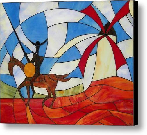 Don Quixote Canvas Print / Canvas Art By Suzanne Tremblay