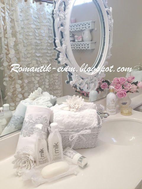 658 best Shabby Chic Bathrooms images on Pinterest | Room, Shabby ...