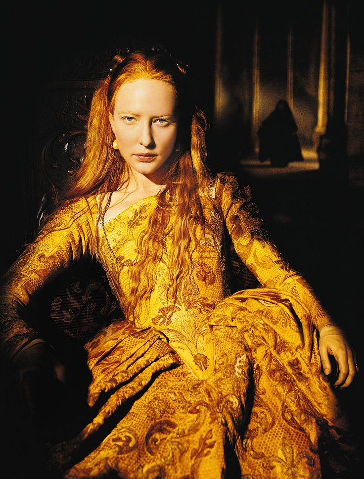 Cate Blanchett as Queen Elizabeth
