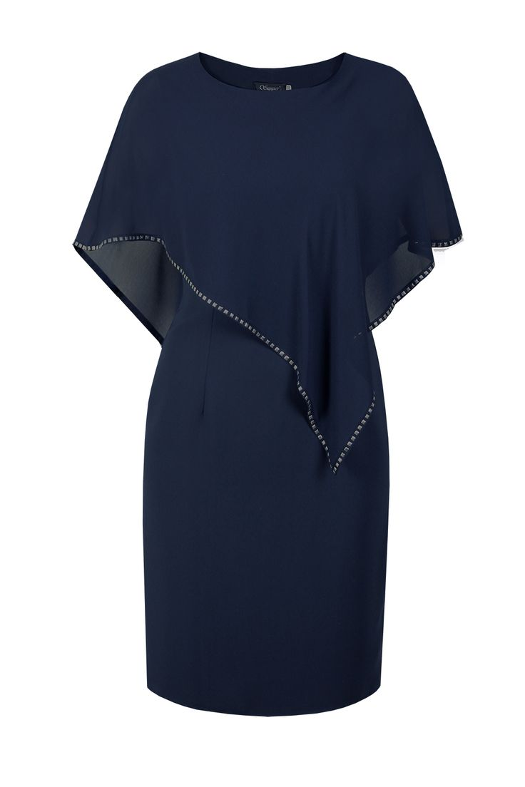 Suknia Nimme granat Semper  #fashion #semper #inspirations #outfit #dress #evening #cocktail #navyblue