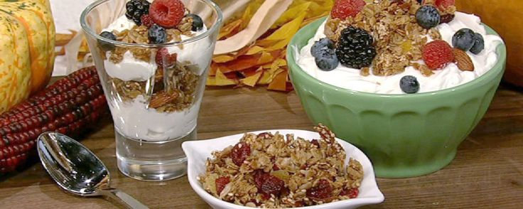 A tasty granola recipe perfect for fall!