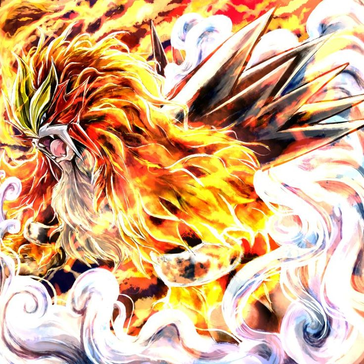 Whoever made this amazing Entei picture deserves more than just a pat on the back! - Imgur