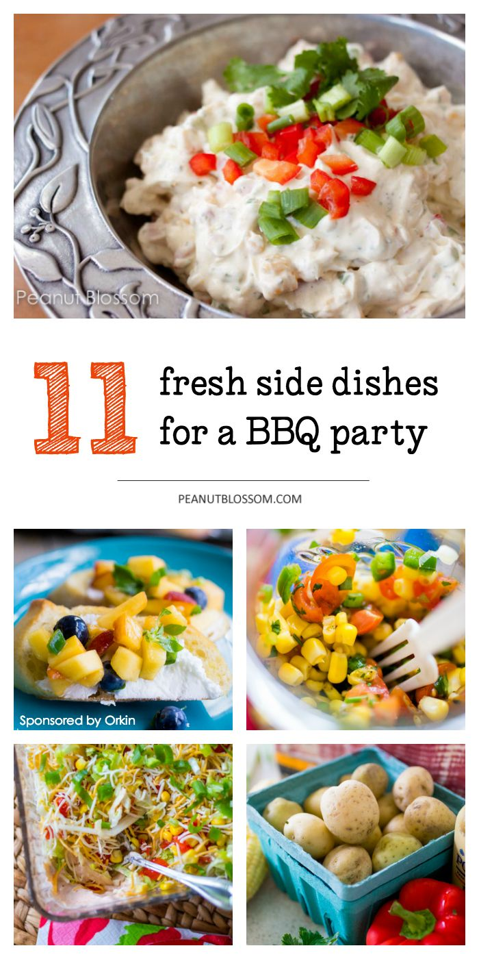 11 Easy Side Dish Recipes For A Potluck Or Backyard BBQ Party Perfect Summer