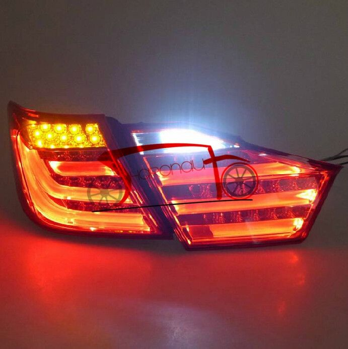 295.74$  Watch here - http://ali52h.worldwells.pw/go.php?t=32375792641 - LED Tail Light Erro Free Left and Right For Toyota For Camry  2012 Tail Lamp 295.74$