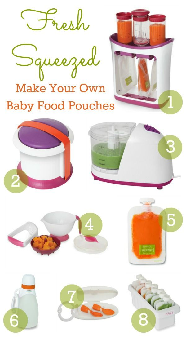 Make Your Own Baby Food Pouches with Fresh Squeezed by Infantino {Review & Giveaway} - The Shopping Mama