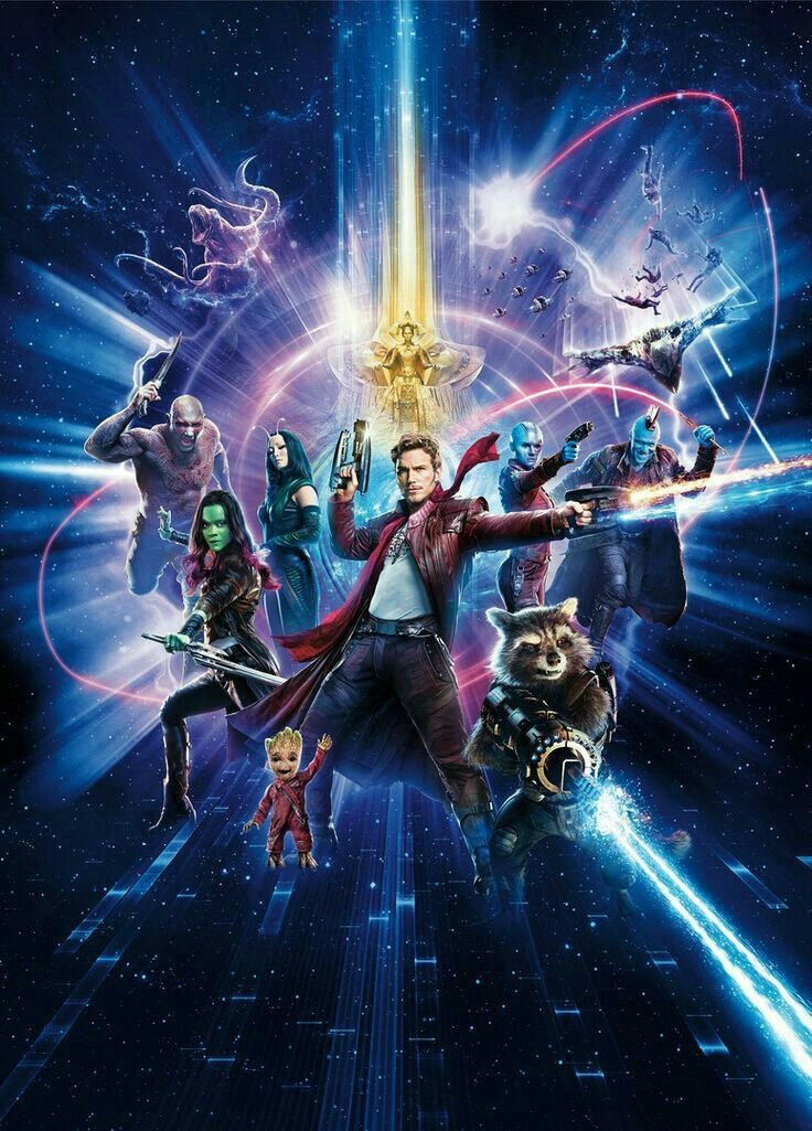 Welcome to the freakin' Guardians of the Galaxy
