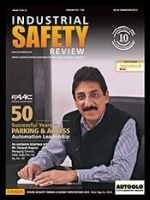 Industrial Safety Review Magazine celebrating its 50 Successful years in Feb15 issue within parking & automation leadership areas.