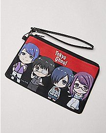Tokyo Ghoul Characters Zip Wallet