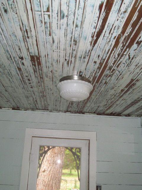 Beadboard Ceilings In Our Mudroom Living Vintage