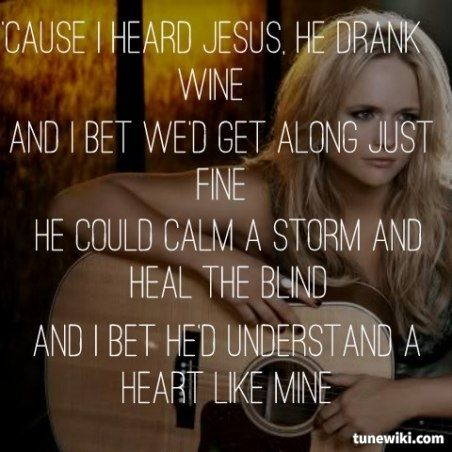 Miranda Lambert ~ Heart Like Mine