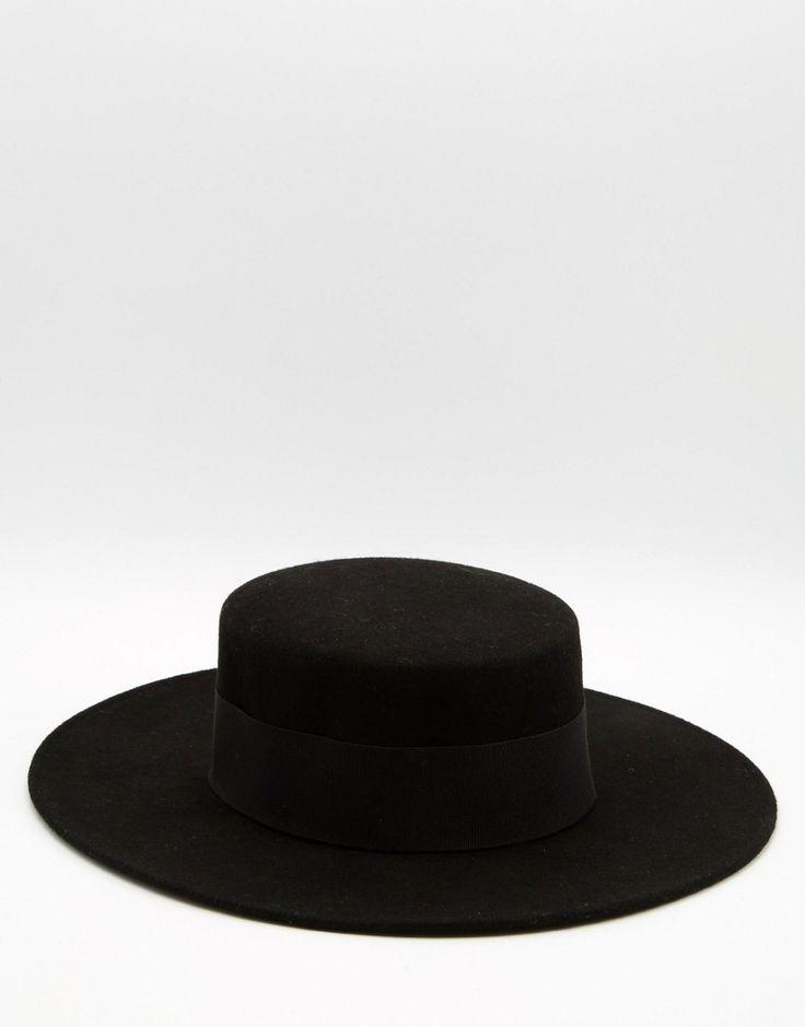 Image 1 ofCatarzi Flat Top Wide Brim Hat
