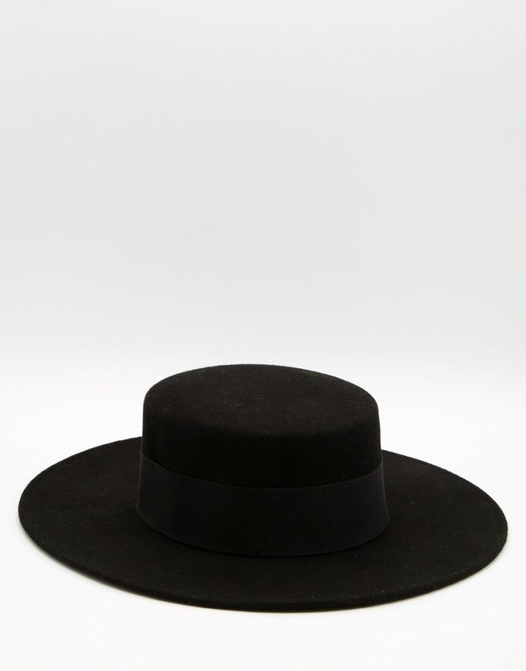 Image 1 of Catarzi Flat Top Wide Brim Hat