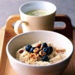 High fibre bircher muesli from Barley + Oats porridge   Goodness Superfoods
