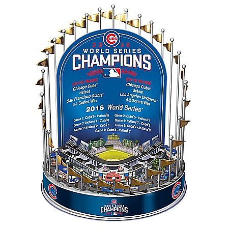 Chicago Cubs 2016 World Series Championship Musical Carousel