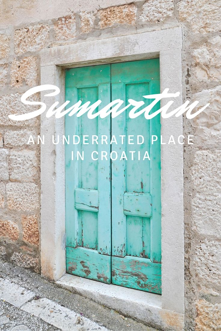Sumartin, an underrated place in Croatia - from travel blog: http://Epepa.eu