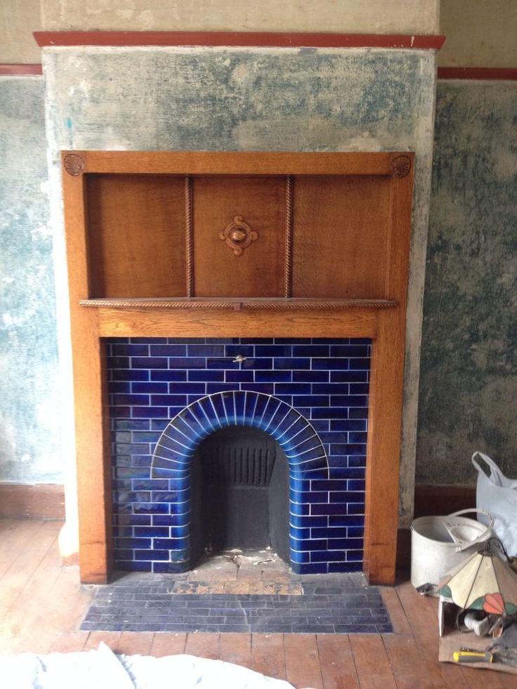 Oak Fireplace 1930s
