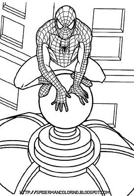 15 best spiderman coloring pages images on Pinterest | Spiderman ...