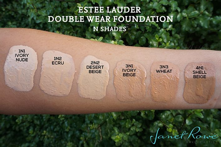 Estee Lauder Double Wear Foundation Review Swatches