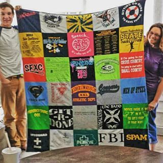 Turn Your T-Shirts into a T-Shirt Quilt! Fun, easy, and affordable!