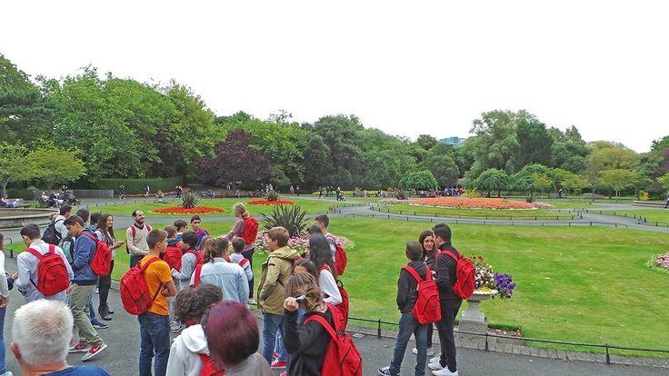 Visita por dublín del grupo de curso escolar | GMR - Grupo Mundo en Red