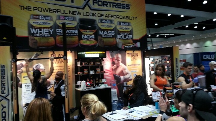 Max pullup contest at #thefitexpo in la #fitness #workout