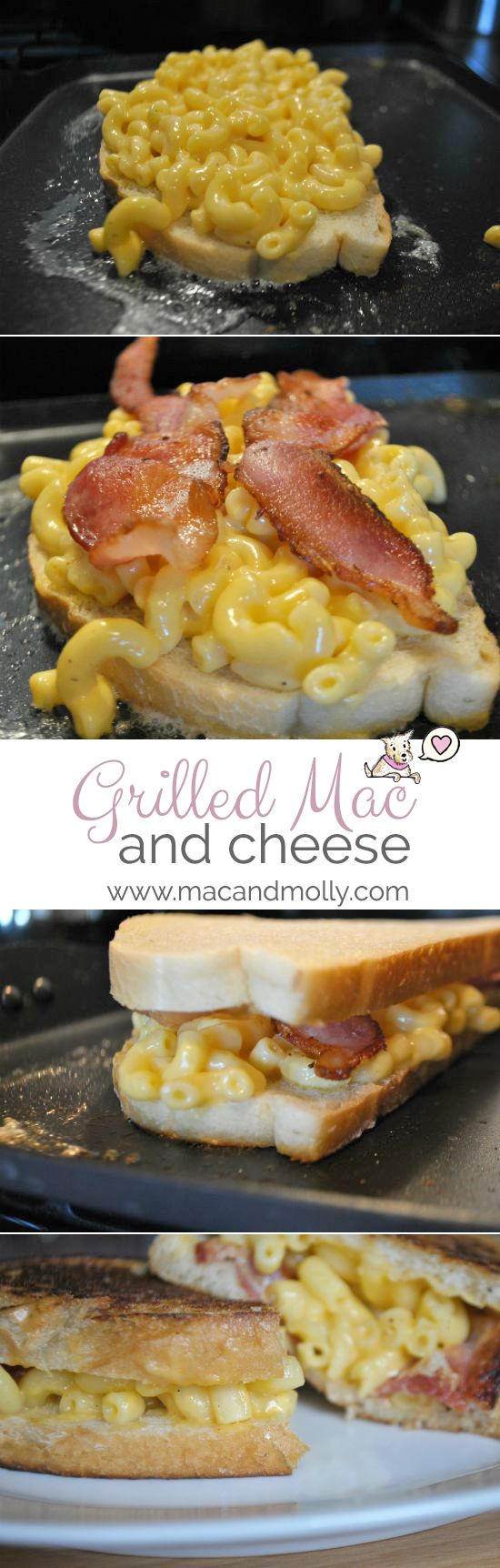 Grilled mac and cheese recipe