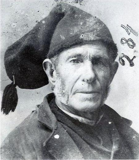 Old povoan fishermen: Joaquim Moreira Assunção