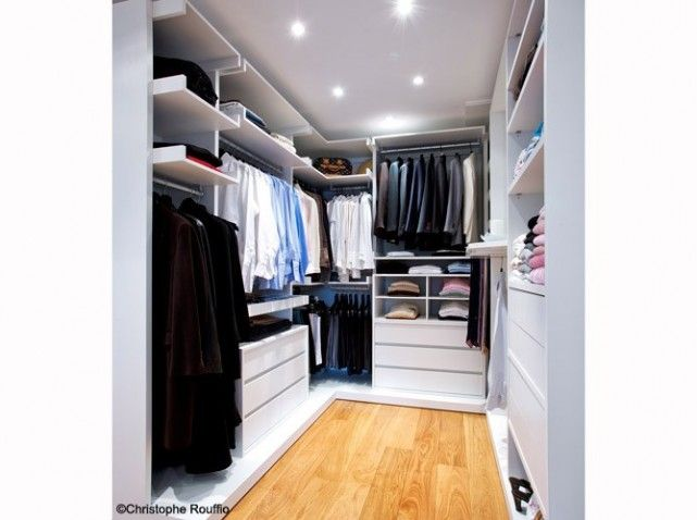 20 petits et grands dressings dressing pinterest conception garde robe et dressing. Black Bedroom Furniture Sets. Home Design Ideas