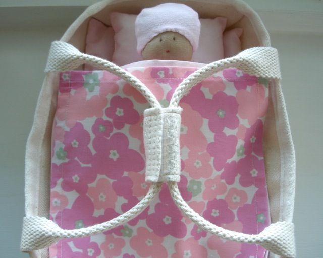 pink cotton doll's set