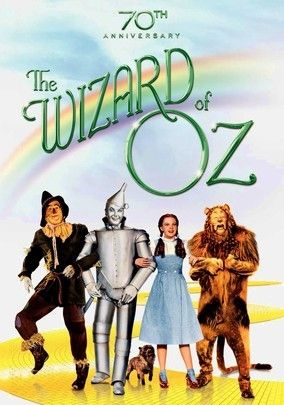 *THE WIZARD of OZ ~ There's no place like home for a girl who's swept away from farm life to a wonderland of munchkins, flying monkeys, and different-colored horses.