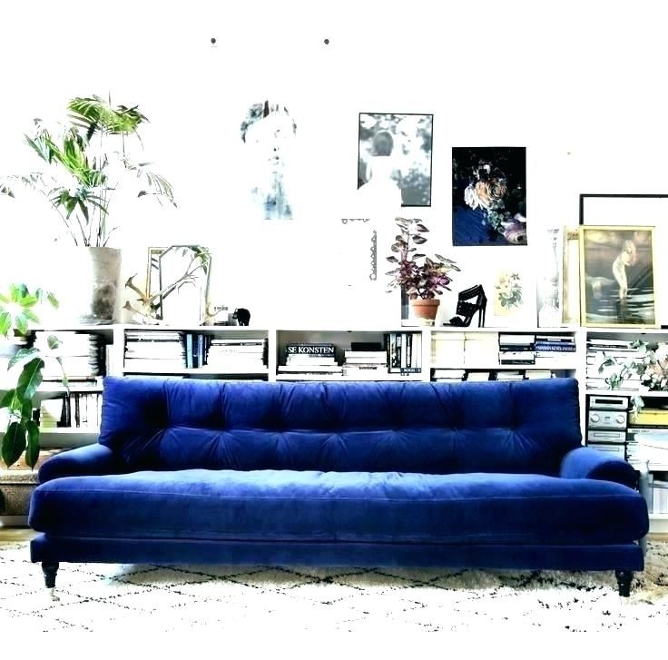 Blue Velvet Sofa Slipcover Royal Cover Wonderful Unique Set For Sale In 2020 With Images Blue Couch Living Room Living Room Sofa Couch Decor
