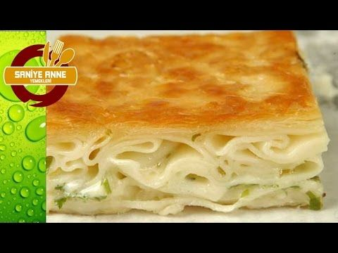 Homemade Water Pastry Recipe | Turkish Cuisine - YouTube