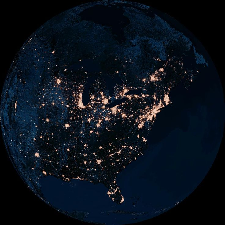 How Lovely The Light Pollution Is From Space Science Beautiful - Beautiful video imagines cities without light pollution